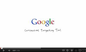 Google Contextual Targeting Tool