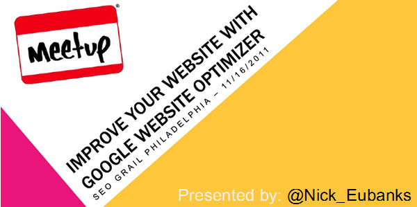 Optimize Your Website with Google Website Optimizer