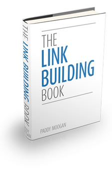 Link Building Book by Paddy Moogan