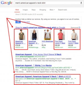 mens-american-apparel-vneck-shirt_Google